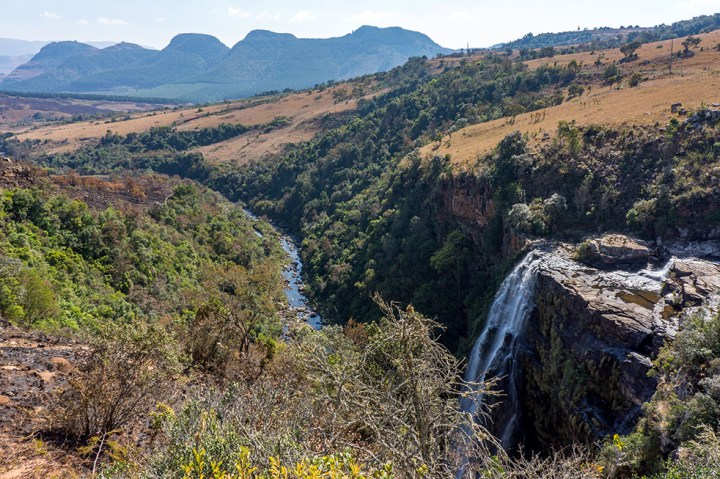 Panoramaroute - Zuid Afrika - Lisbon falls 1