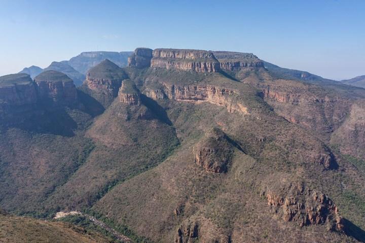 Panoramaroute - Zuid Afrika - Three Rondavels 2