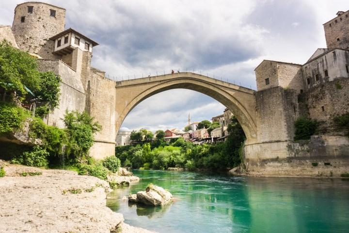 Bosnië-Herzegovina-Mostar-oude-brug
