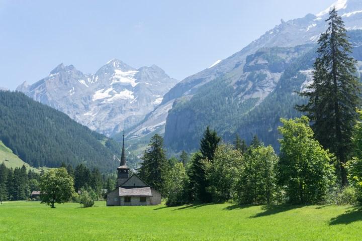 kandersteg-Zwitserland