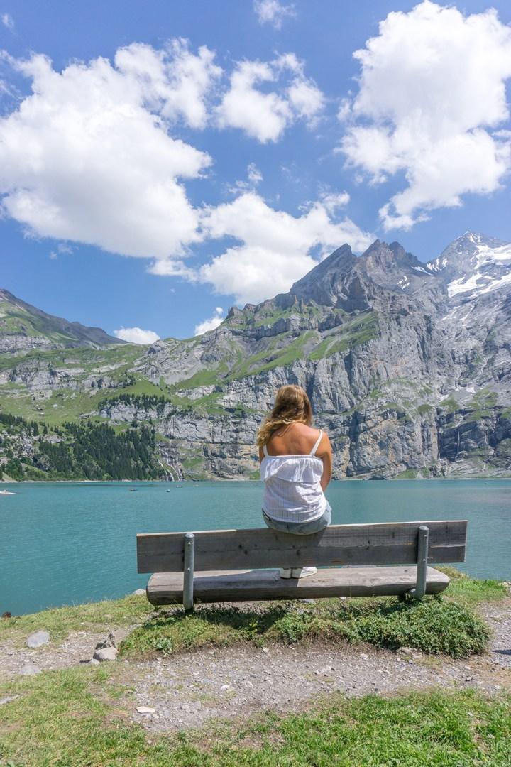 oeschinensee-Zwitserland