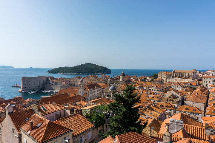 Dubrovnik-uitzicht-lokrum