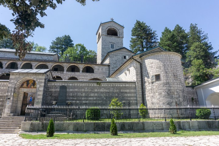 montenegro-Cetinje-klooster