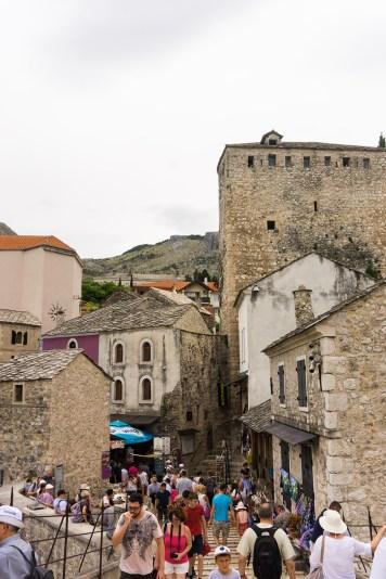 Bosnië-Herzegovina-Mostar-oude-stad