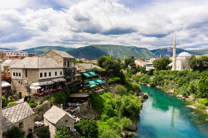 Bosnië-Herzegovina-Mostar-rivier
