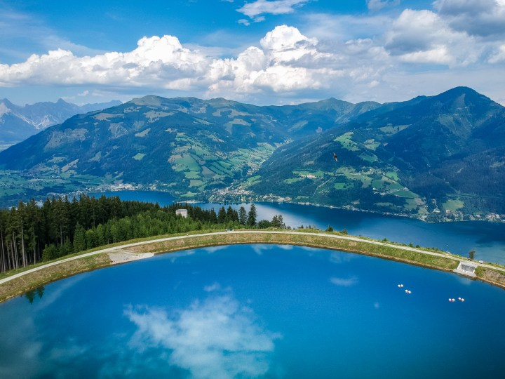 Zell am See in de zomer
