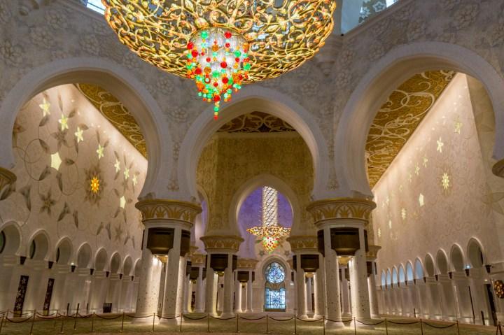 Sheikh Zayed binnen