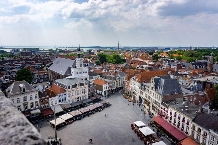 Uitzicht Peperbus Bergen op Zoom