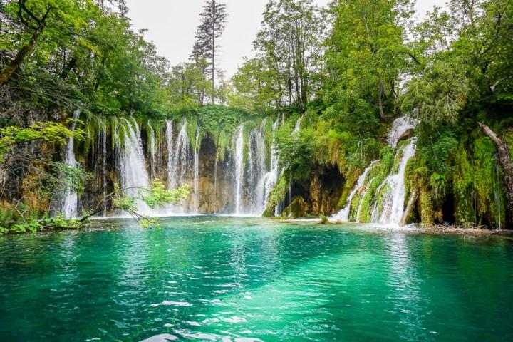 Watervallen in Kroatië