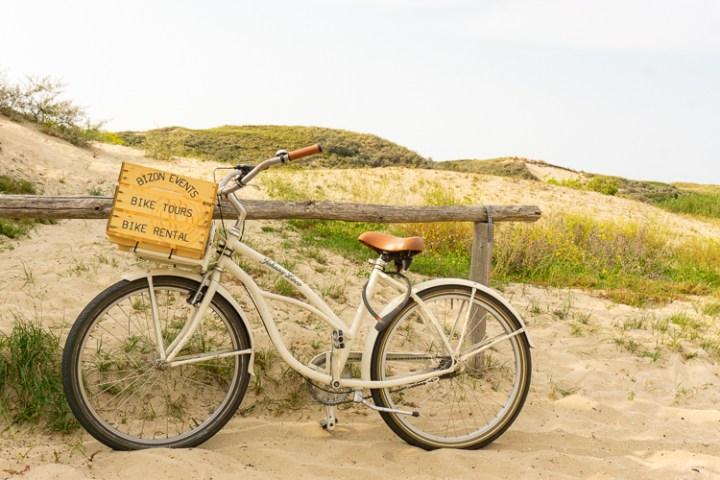 Fietsen door de duinen van Katwijk