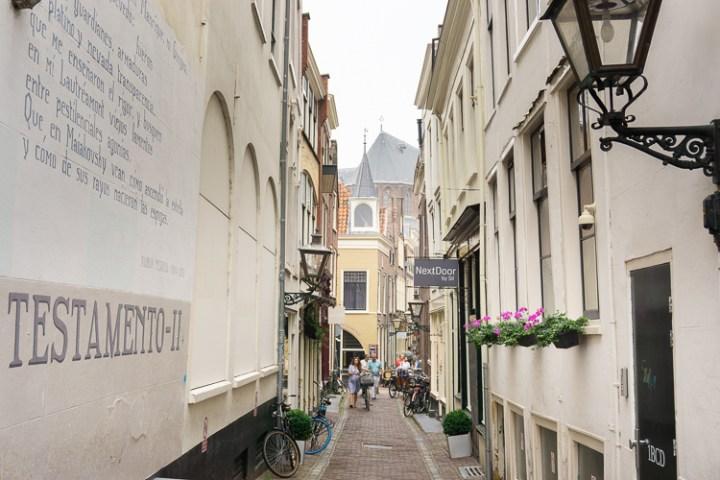 De historische binnenstad van Leiden