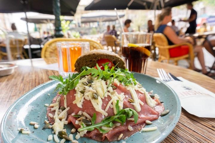 Lunchen in Leiden