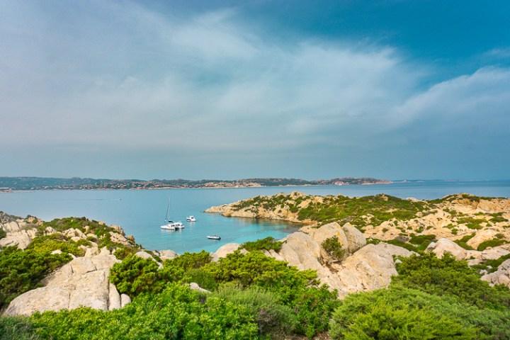 Mooiste strand van Sardinië op Caprera