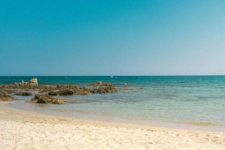 Strand bij Olbia