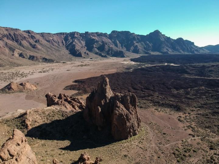 Maanlandschap bij El Teide