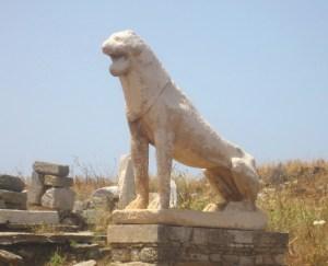 Naxian lion.