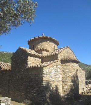 Ancient chapel on Naxos.