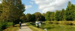 Canal Midi barge.