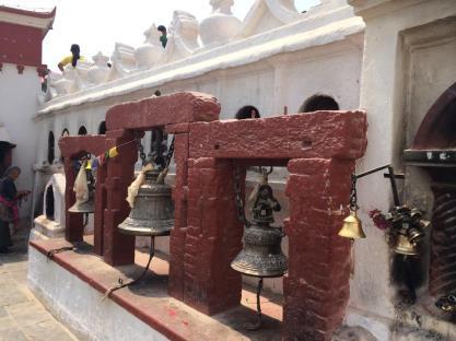 bouddha stupa bells