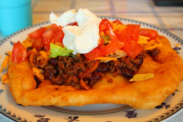 Fall In Love With The Sioux Indian Taco