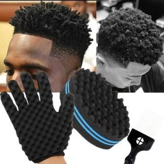 African Hair Men's Styling Brush