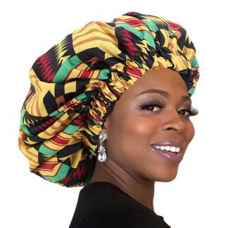 African Pattern Women's Bonnett
