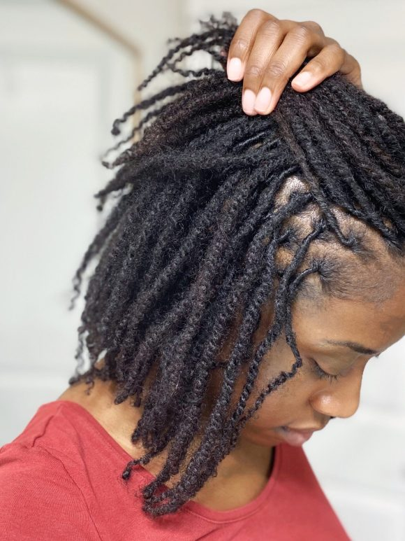 Retwist No. 4 And How I Retwist My Starter Locs