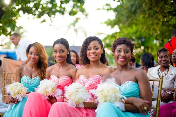Bridesmaid duties