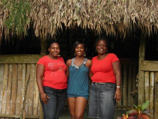 With Mauvita and Donesha