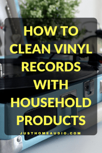 Blog Title Image of How to Clean Vinyl Records with Household Products
