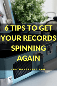 "Blog Post Image for a Post Title - ""6 Tips to Get Your Records Spinning Again"""