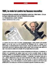 1881, la vraie loi contre les fausses nouvelles - Le Point du 18 janvier 2018_Page_1
