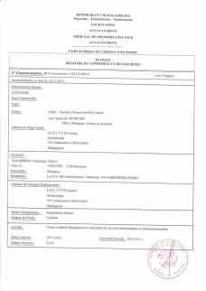 Mise en demeure de RANARISON Tsilavo gérant fondateur CEO NEXTHOPE Madagascar contre Solo du 4 juillet 2017_Page6