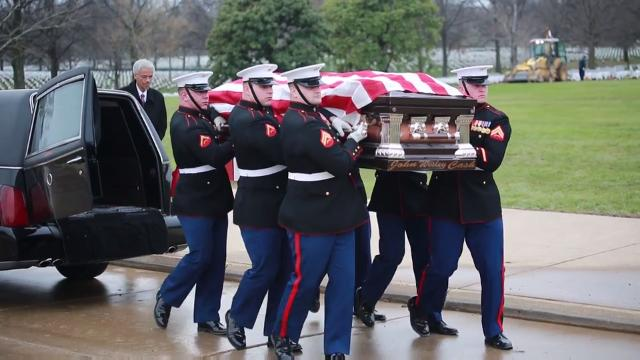 USMC Body Bearers  … The Last to Let You  Down