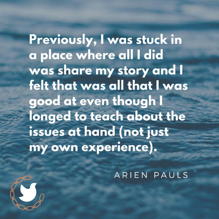 Arien Pauls quote