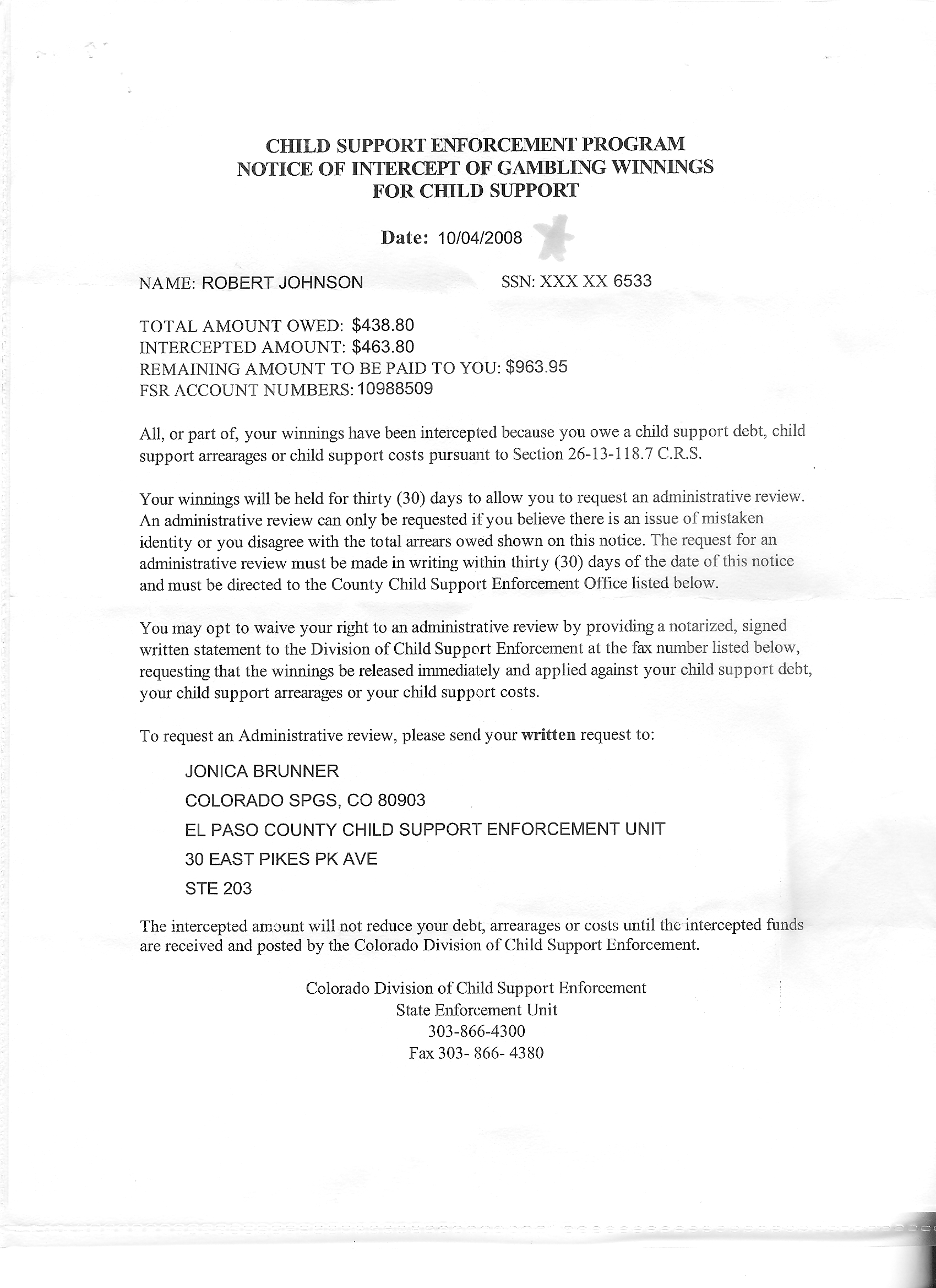 Sample Letter Requesting Financial Assistance From