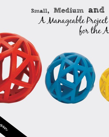 Small, Medium and Large: A Manageable Project Strategy for the Ambitious