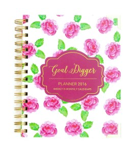 Old School + Organized w. my Goal Digger Planner