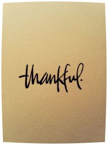The Restorative Powers of Thanksgiving