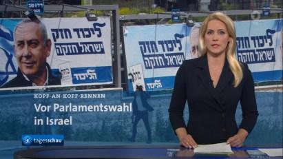 """Bildergebnis für Programmbeschwerde Tagesschau: Rechtsradikale Likud-Partei ist """"konservativ""""?"""