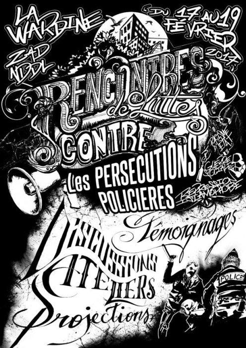 Rencontre contre les persécutions policières, Notre-Dame-des-Landes