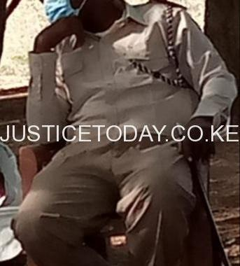 A Chief in Garissa County is accused of being in office illegally
