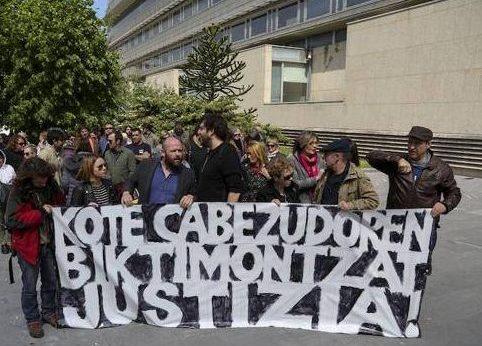 Juicio a Kote Cabezudo por desobediencia a la Autoridad