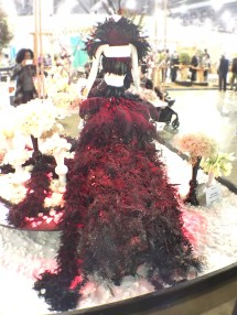 This is what the back of homegirl's dress looks like. Queen shxt right?