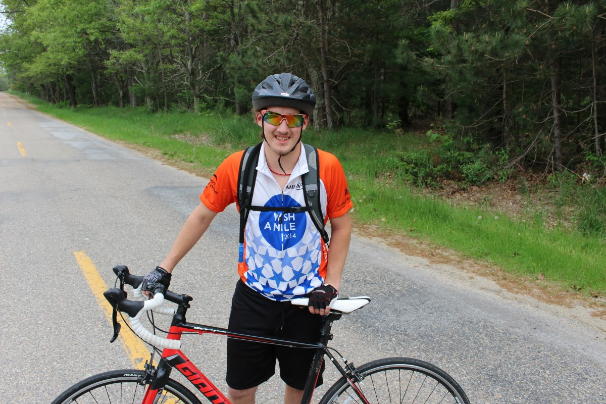 Kring Prepares for a Cross Country Bicycle Ride ...