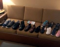 Justin Blair at Chicago Shoe Market 2018