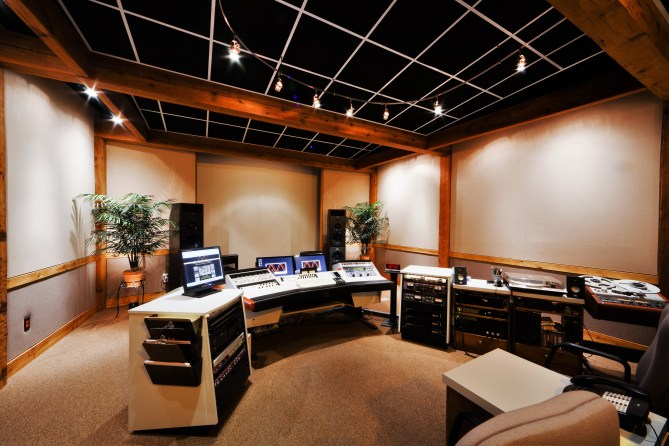 Mayfield Mastering Studio A; photo by John Albani
