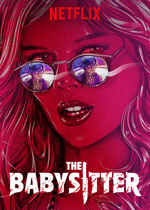 poster for the babysitter movie