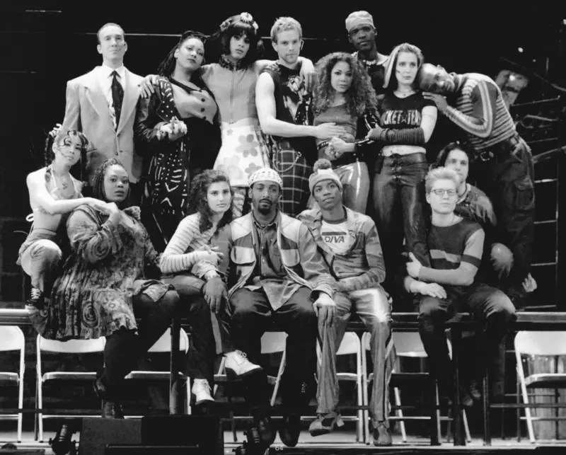 Original Broadway Cast of Rent | Source: WikiCommons; Creative Commons License: CC BY-SA 4.0