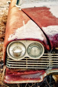 Car, Ice 8 X 12